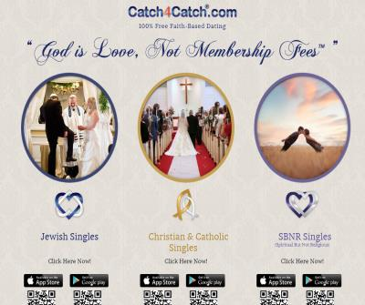 Catch4Catch.com - Free Jewish Dating Service