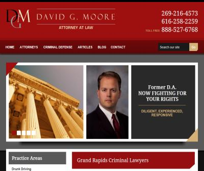 David G. Moore, Attorney at Law