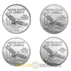 Platinum Coins & Bars