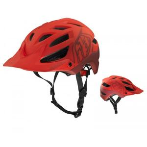 Troy Lee Designs - 2014 A1 Drone Helmet Matte Red