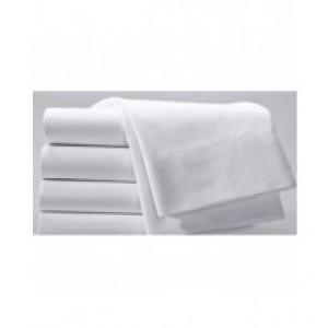 Affortable White Linen Bed Sheet Set For Furnished Housing, Vacation Rental Homes, Private Jets,  Luxury Yachts