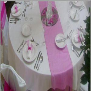 Organza Table Runners Wholesale