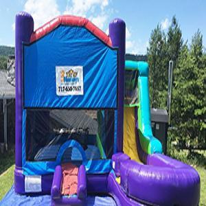 Aqua Wet/Dry Bounce House Combo